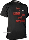 T-shirt DRAGON ClimaDry I AM THE KING I CAN CATCH