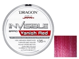 Plecionki DRAGON Invisible VANISH RED