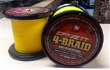 Plecionka EFFZETT 4-BRAID YELLOW na metry