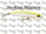 Woblery STORM So-Run Minnow 9,5cm SANDACZOWY